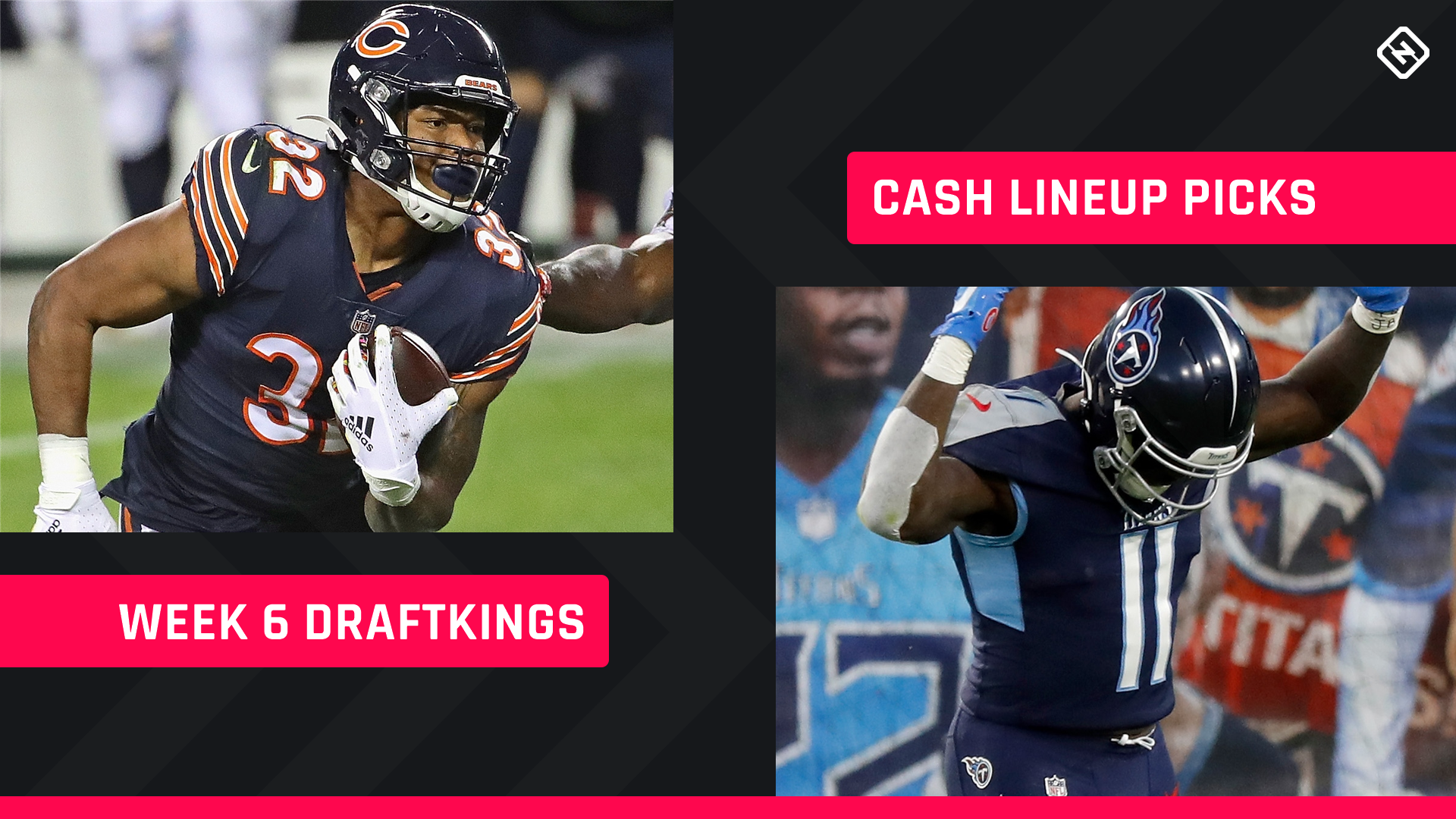 Week 6 DraftKings Picks: NFL DFS lineup advice for daily fantasy football cash games