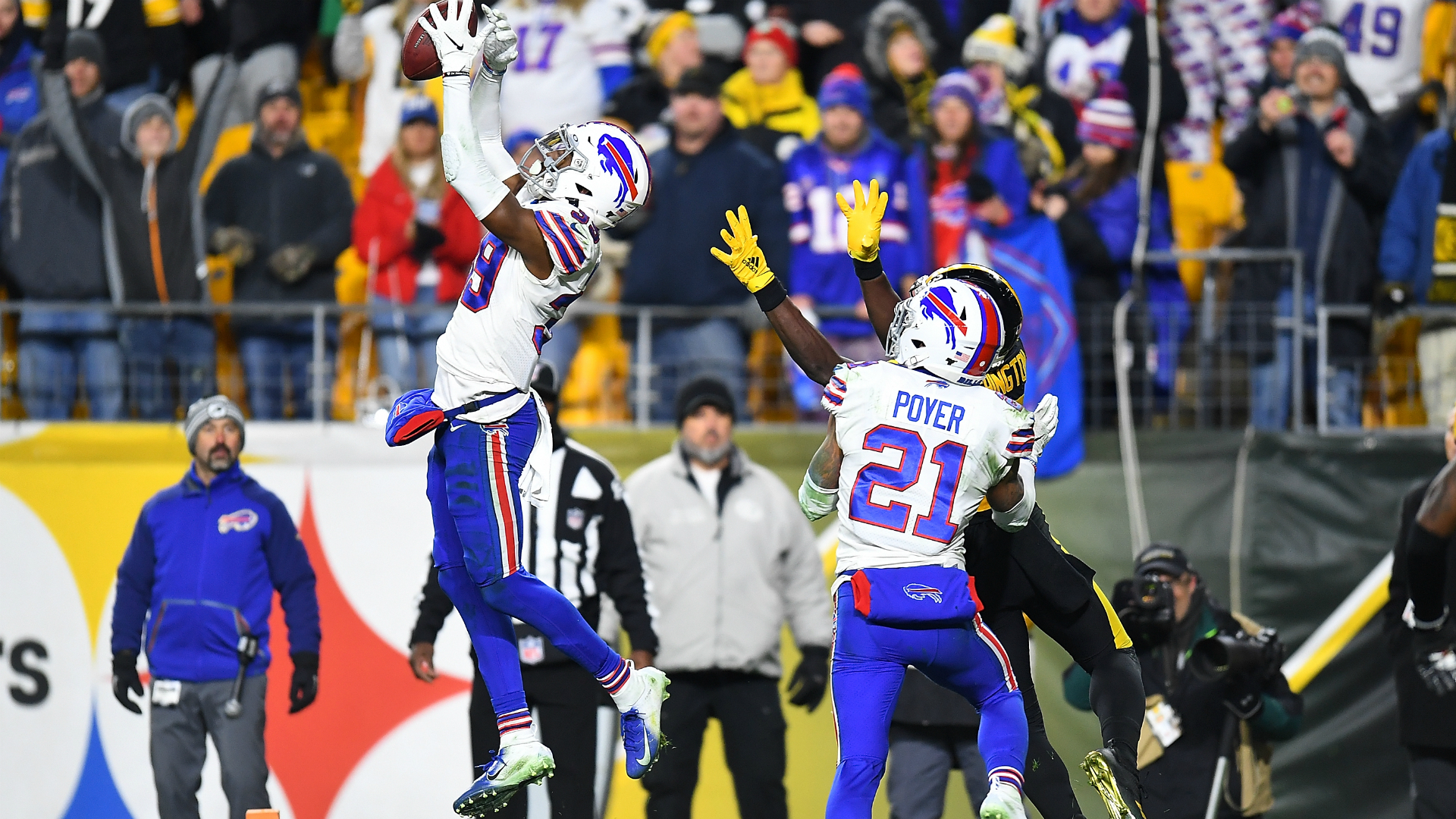 Steelers vs. Bills final score: Buffalo back in playoffs behind its star-studded secondary