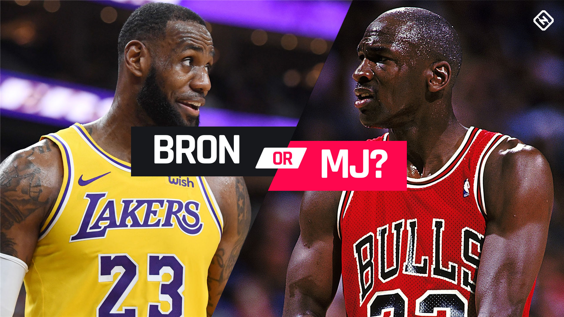 vamos a hacerlo Representar Fantasía  Michael Jordan vs. LeBron James: The key stats you need to know in the GOAT  debate | Sporting News