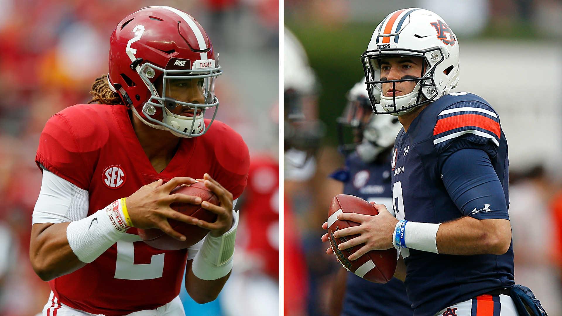 College football picks, Week 13: Alabama, Auburn at center ...