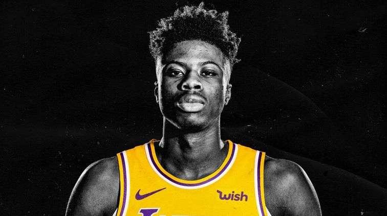 Los Angeles Lakers Kostas Antetokounmpo