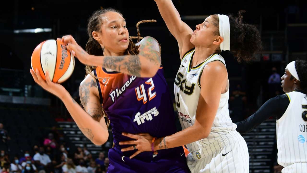 Brittney Griner and Candace Parker
