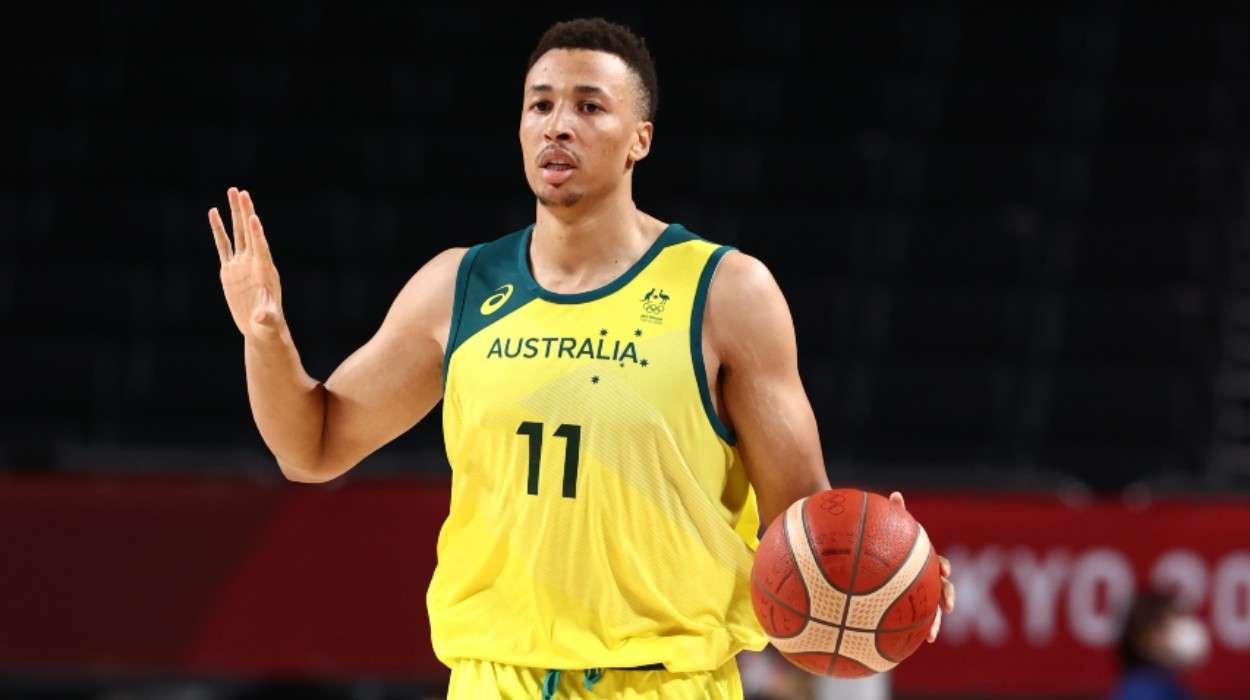 Dante Exum Australia Men's National Team