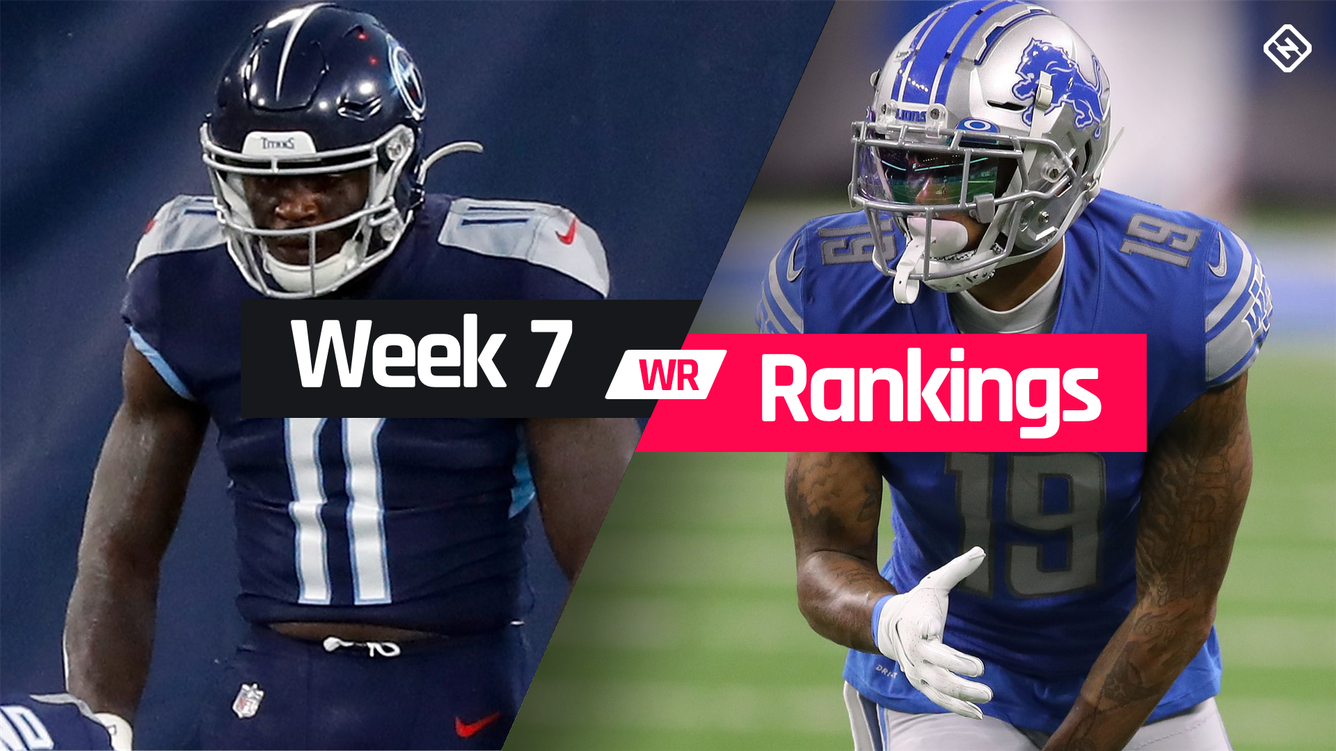 Week 7 Fantasy WR Rankings: Must-starts, sleepers, potential busts at wide receiver
