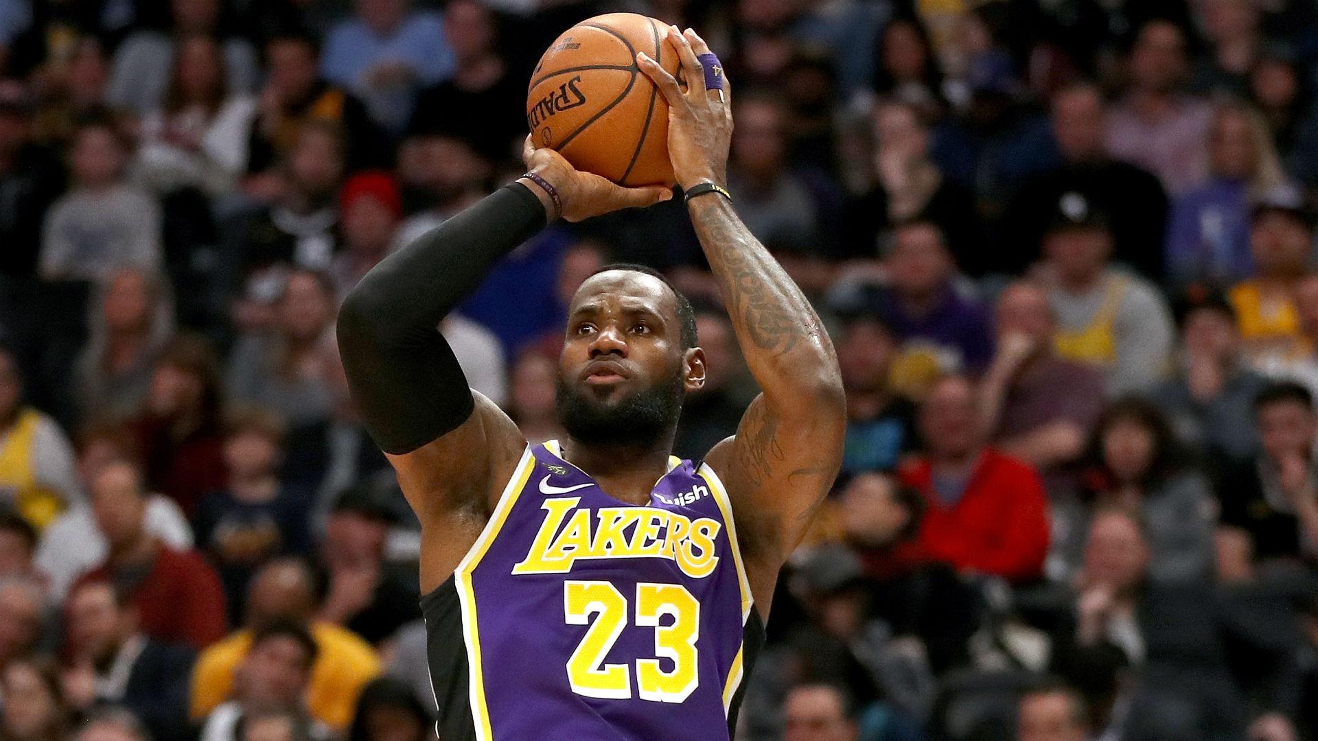 Mientras LeBron James siga golpeando este número mágico, los Lakers ganarán para siempre 59