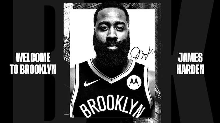 BROOKLYN NETS JAMES HARDEN