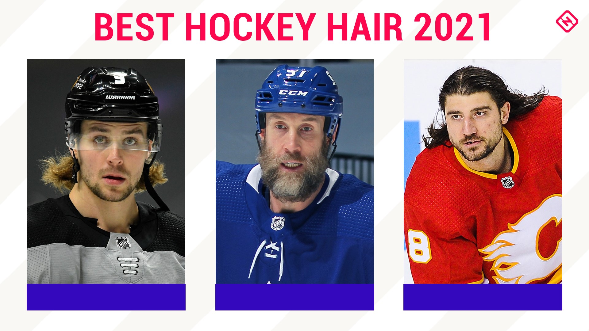 Hockey hair, 2021 edition: The NHL's best beards, mullets and more