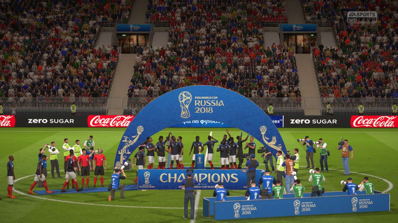 FIFA 18 World Cup Russia Champion France
