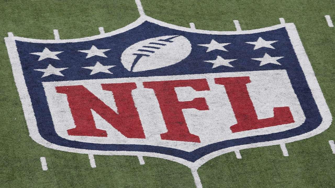NFL, フィールドのロゴ,