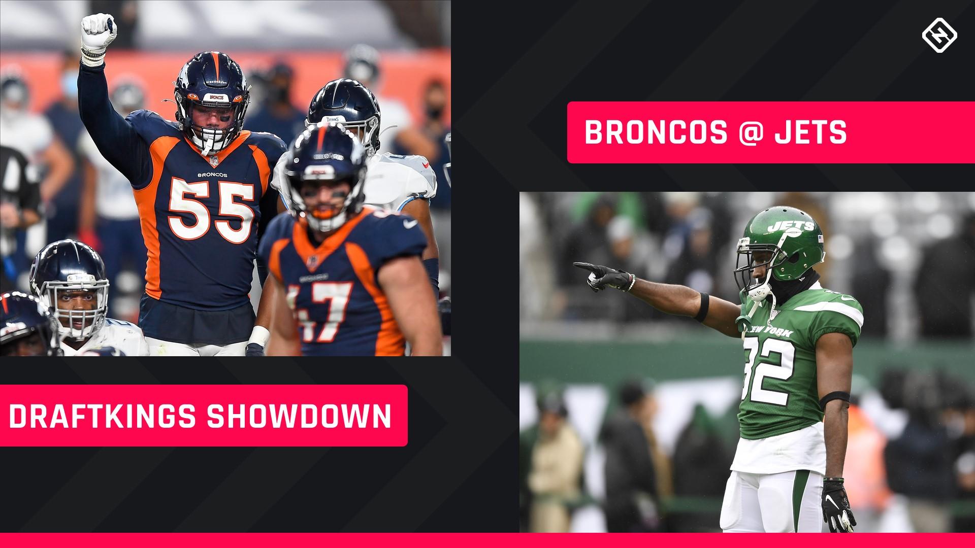Thursday Night Football Draftkings Picks Nfl Dfs Lineup Advice For Week 4 Jets Broncos Showdown Tournaments Sporting News