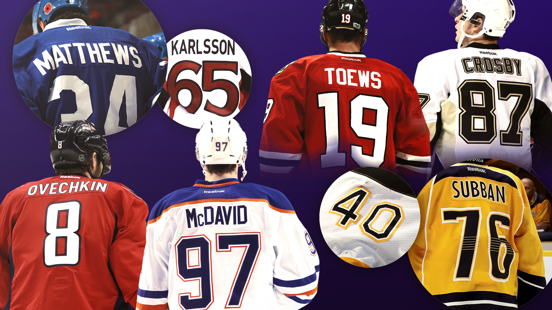The Best Active Nhl Player At Every Jersey Number  1 To 97