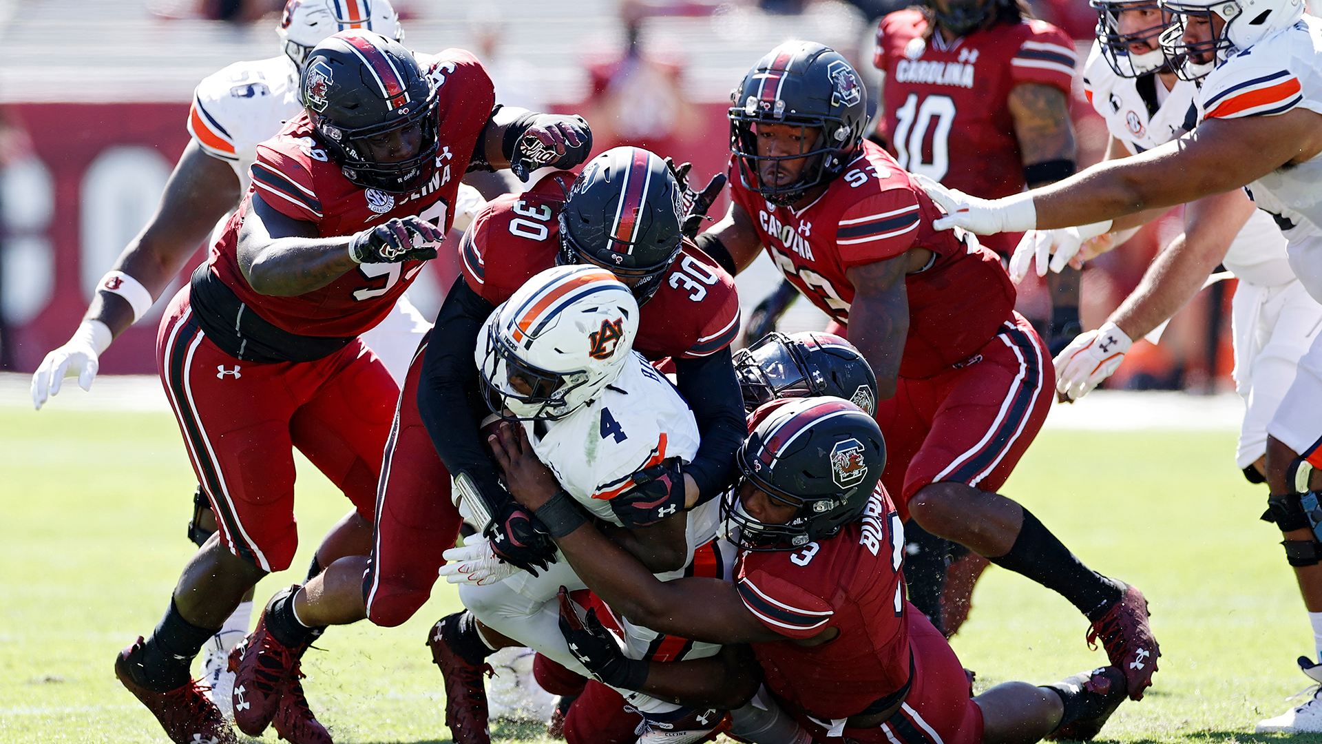 3 things we learned from South Carolina's first win over Auburn since 1933 1