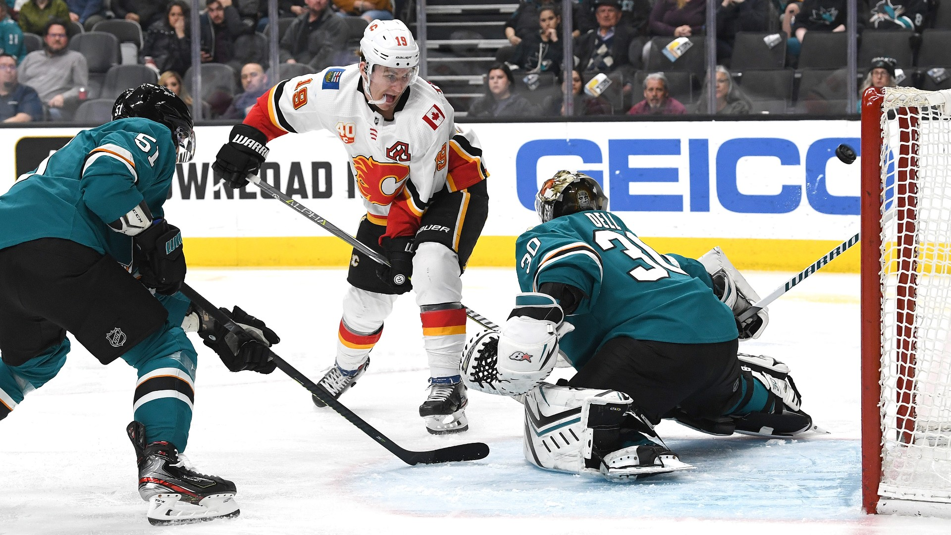 Matthew Tkachuk's latest between-the-legs goal is a reminder of Flames winger's undeniable stardom