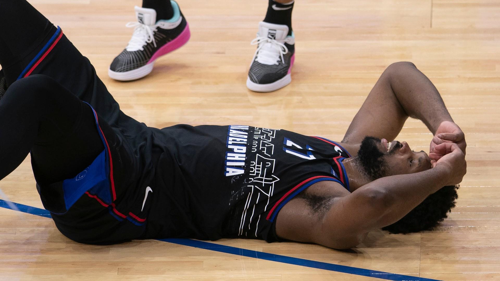 76ers' Joel Embiid nearly nets insane, Hail Mary buzzer-beating shot vs. Suns