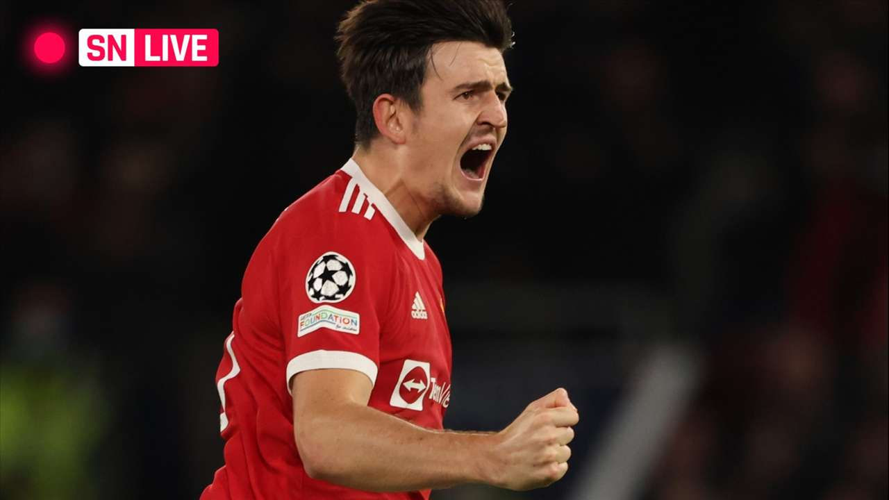 LIVE - Harry Maguire - Manchester United - Champions League - October 20, 2021