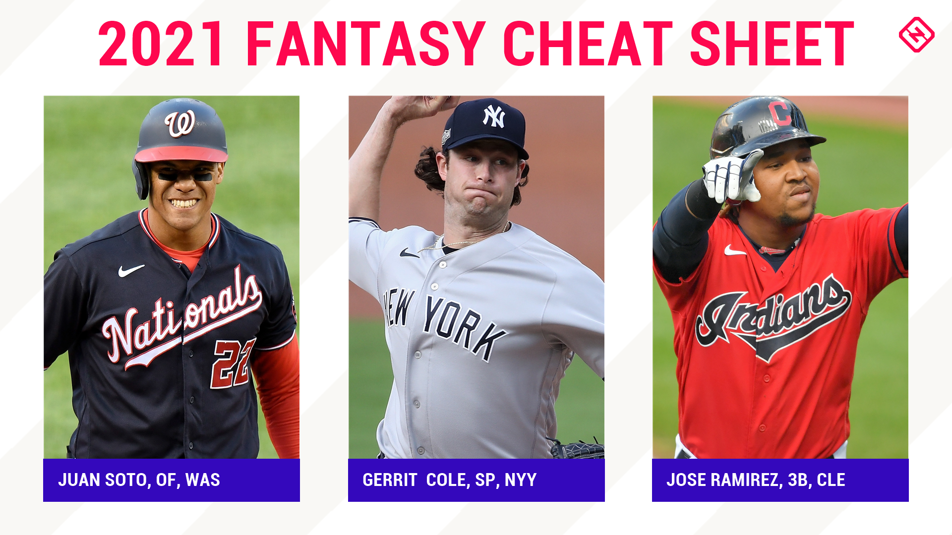 2021 Fantasy Baseball Cheat Sheet: Rankings, sleep, main solutions, auction values, levels, team names, more