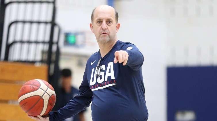 Jeff Van Gundy USA Basketball Men's National Team