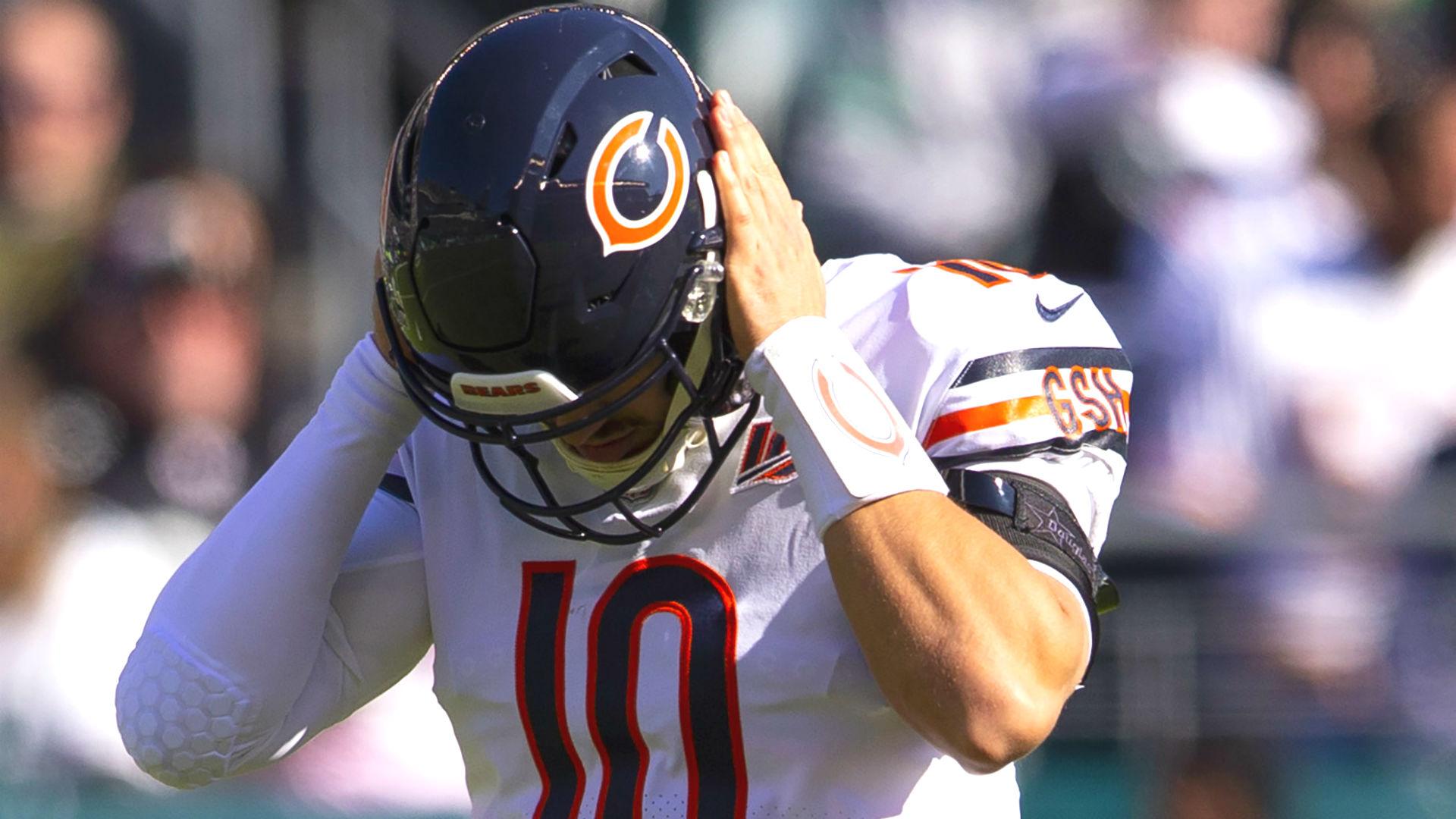 Mitchell Trubisky tiene competencia después de que los Bears intercambiaran por Nick Foles, y Twitter le hizo saber 7