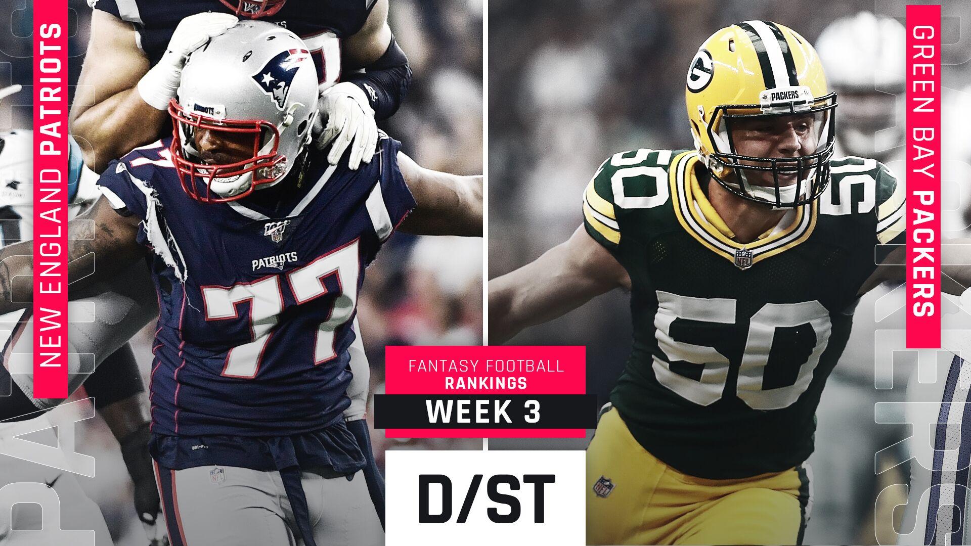 Week 3 Fantasy Rankings Defense Sporting News
