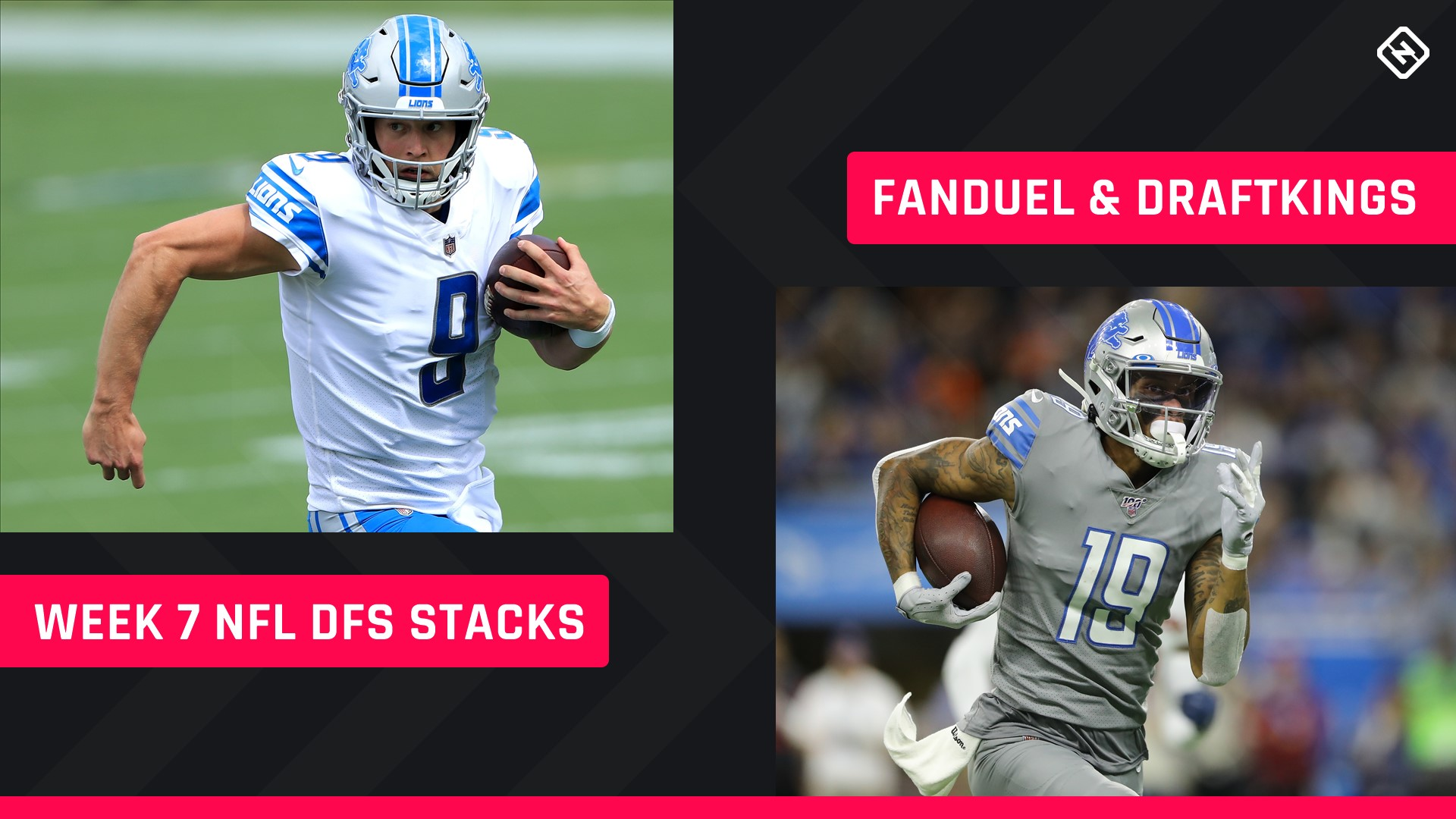 Week 7 Nfl Dfs Stacks Best Lineup Picks For Draftkings Fanduel Tournaments Cash Games The West News