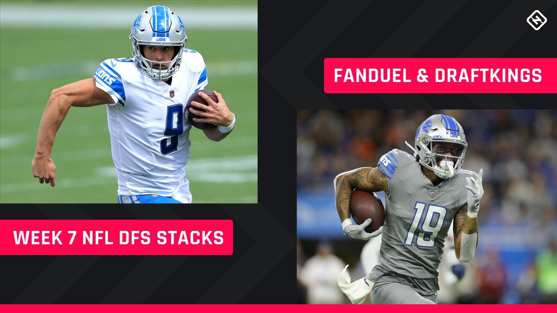 Week 7 Nfl Dfs Stacks Best Lineup Picks For Draftkings Fanduel Tournaments Cash Games Sporting News