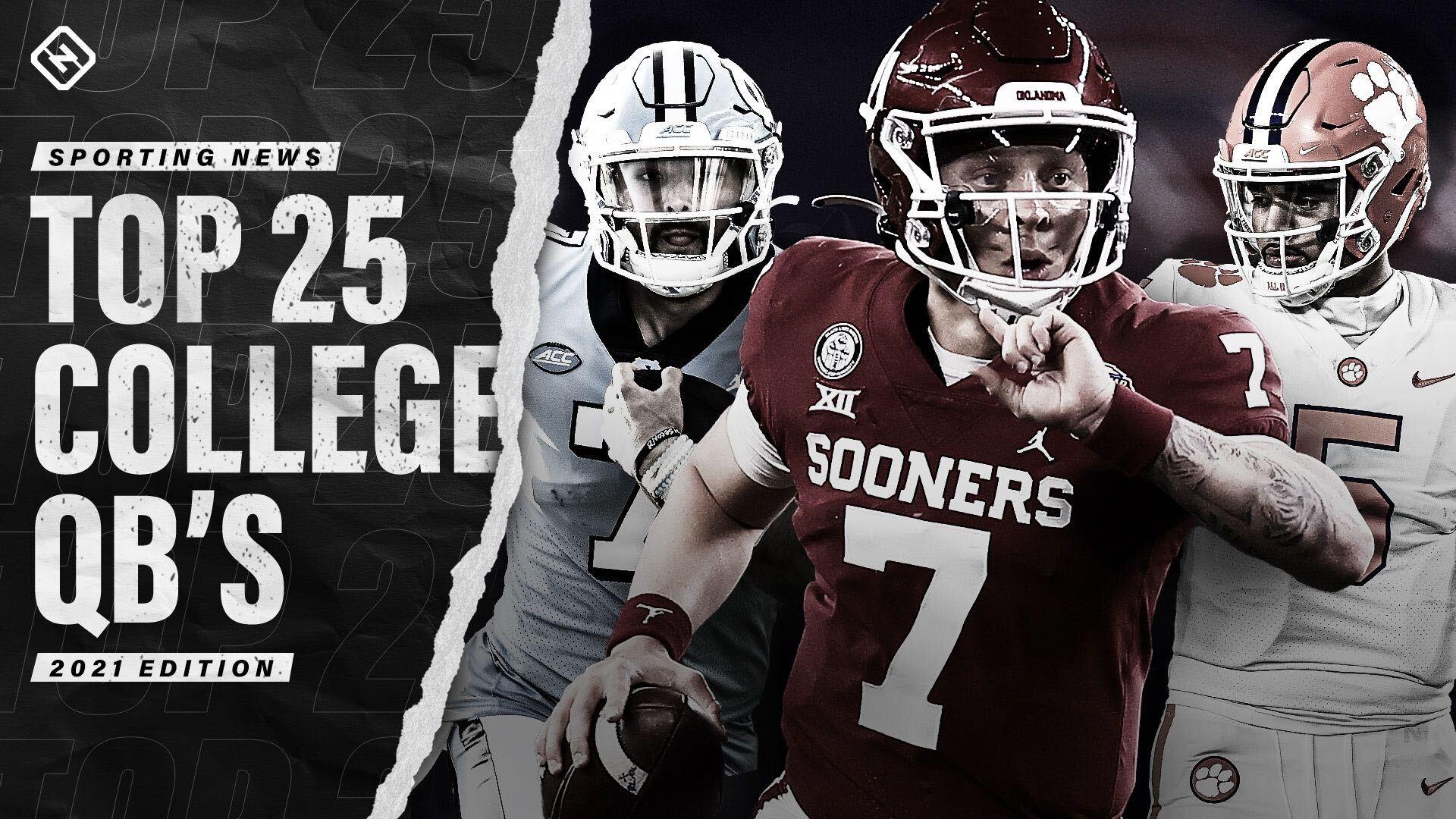 College football's top 25 quarterbacks for 2021