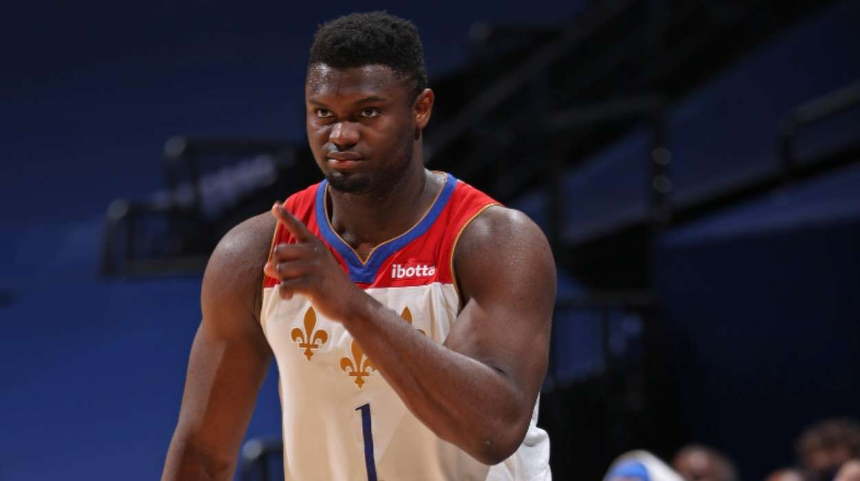 Zion Williamson New Orleans Pelicans