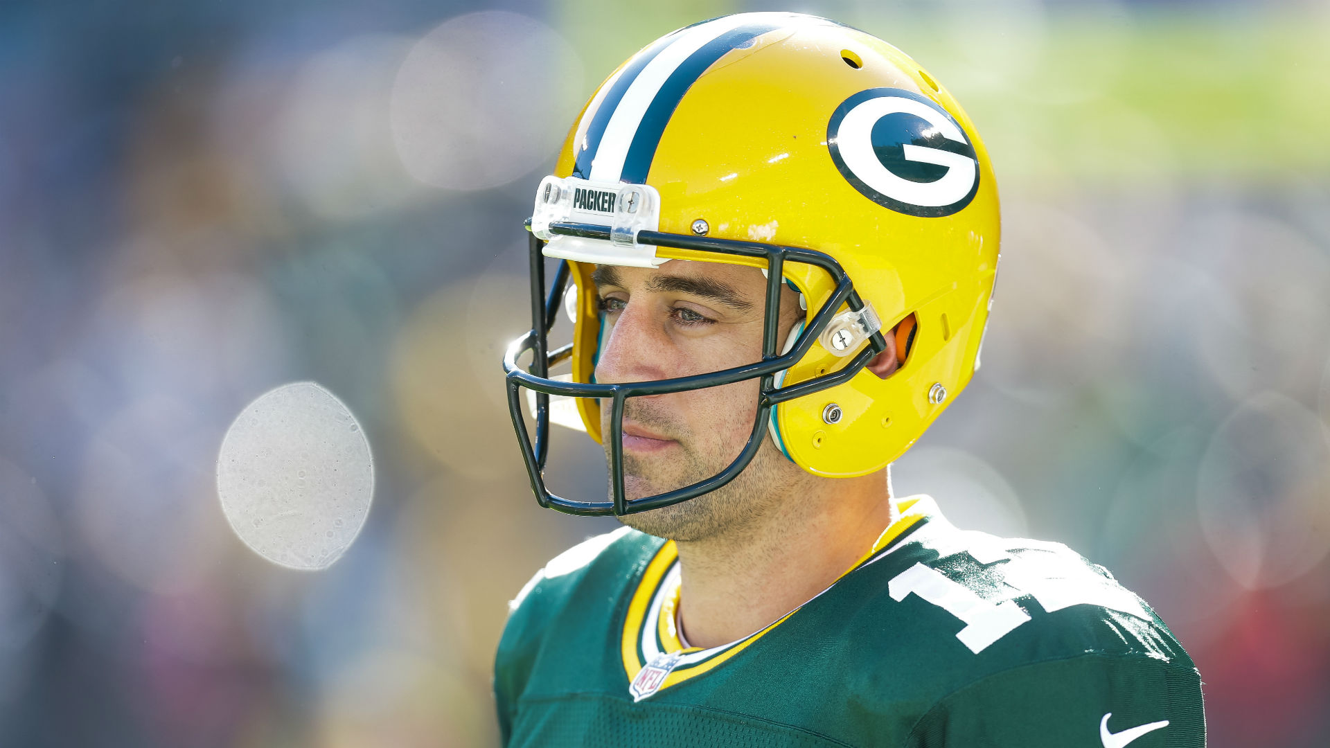 Aaron Rodgers Doesn T Feel Missing Chinstrap Or Cowboys Pass Rush Sporting News
