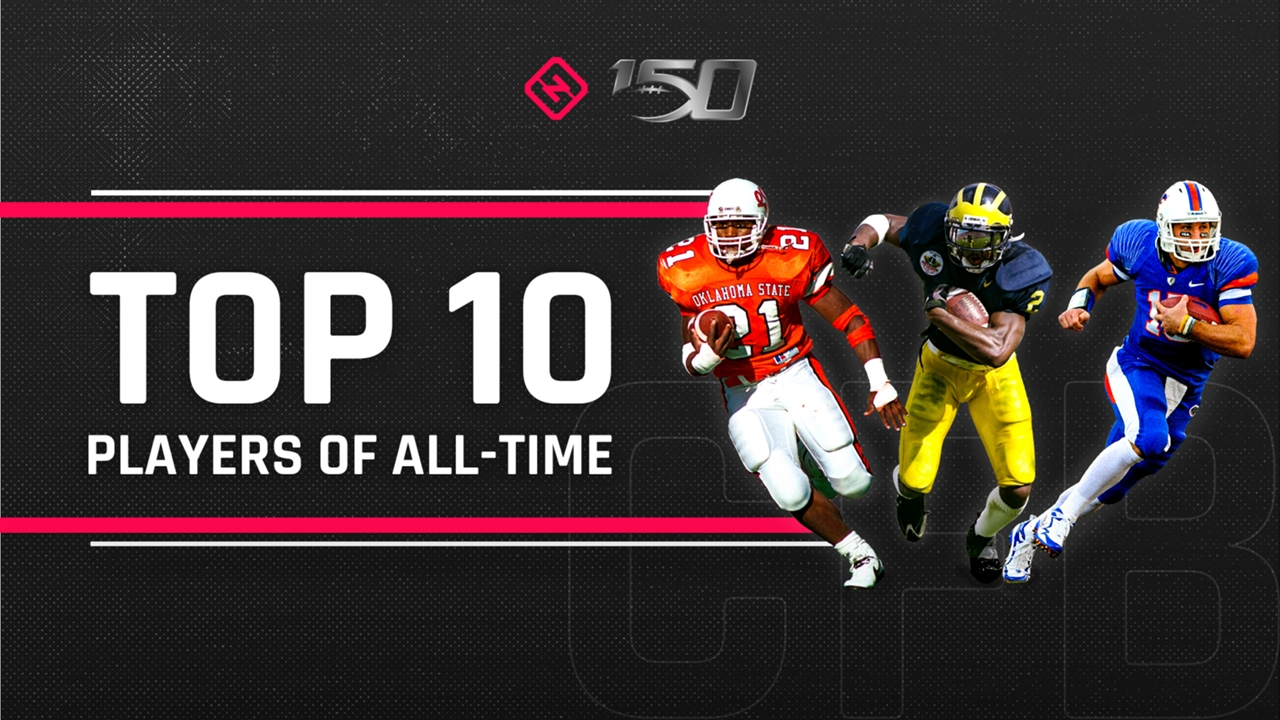 Cfb 150 Top 10 College Football Players Of All Time Sporting News