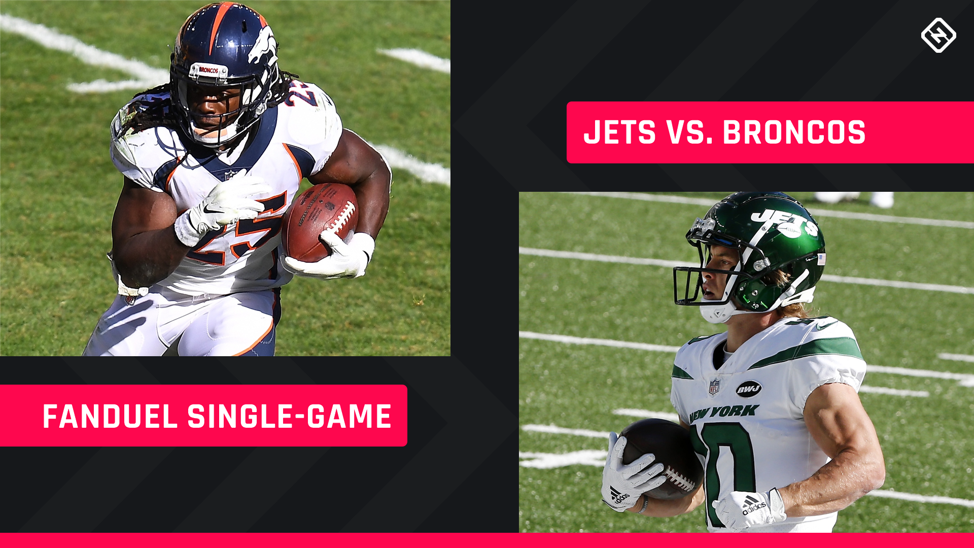 Thursday Night Football FanDuel Picks: NFL DFS lineup advice for Week 4 Jets-Broncos single-game tournaments