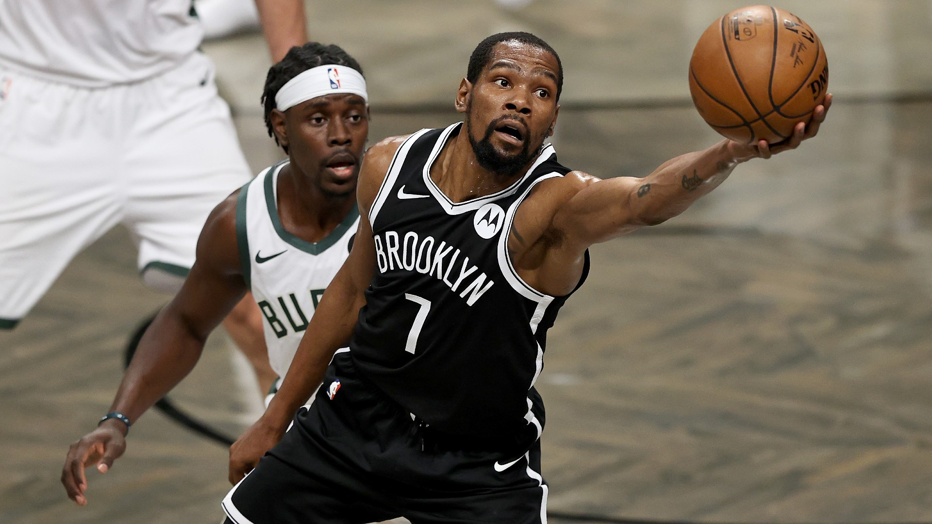 Nets 'Kevin Durant joined Team USA at the Tokyo Olympics for Game 7 against the Bucks, the report says