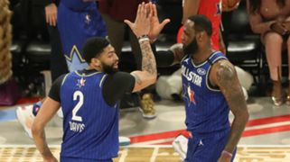 Anthony Davis LeBron James Team LeBron 69th NBA All-Star Game
