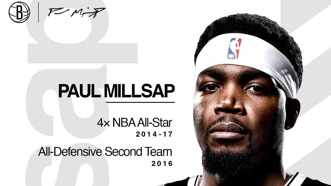 Paul Millsap Brooklyn Nets