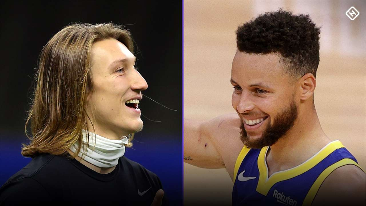 Trevor Lawrence-Stephen Curry-042121-GETTY-FTR