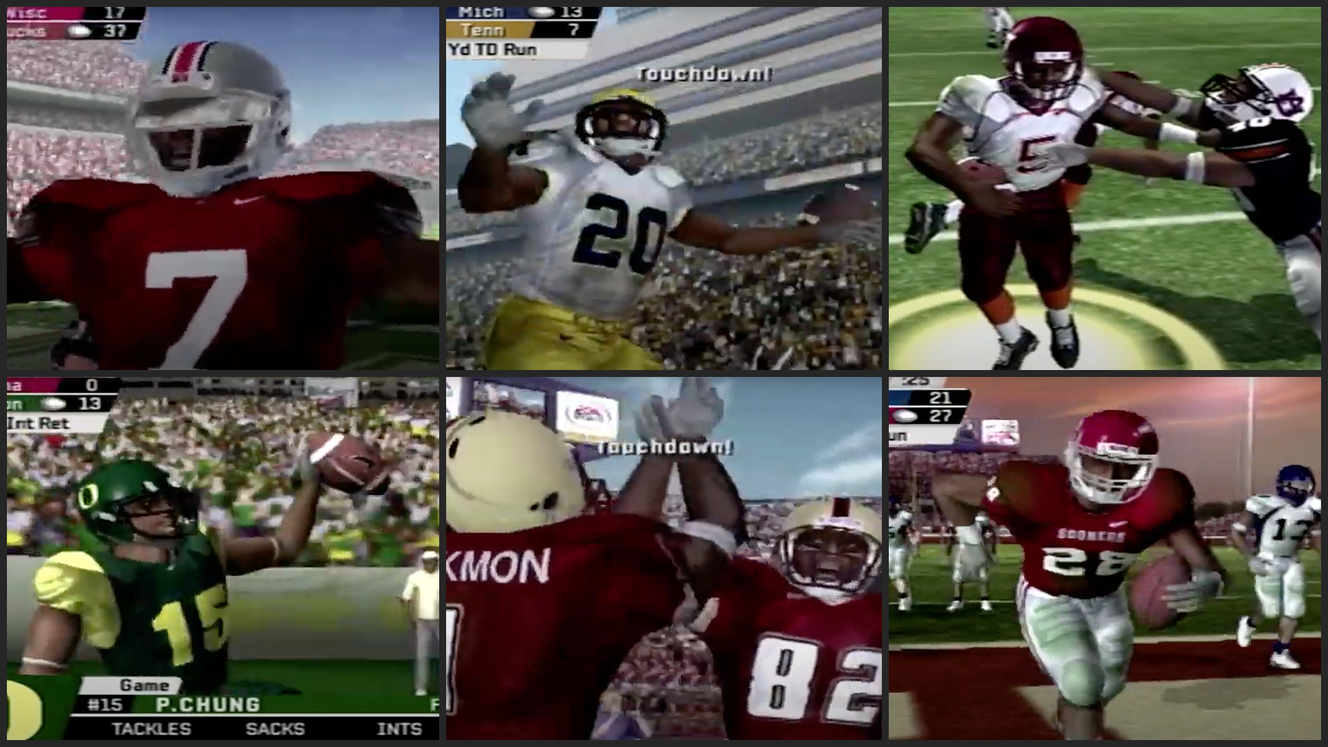 We made the epic 2005 college football season even better with a 32-team playoff on 'NCAA Football 06' 1
