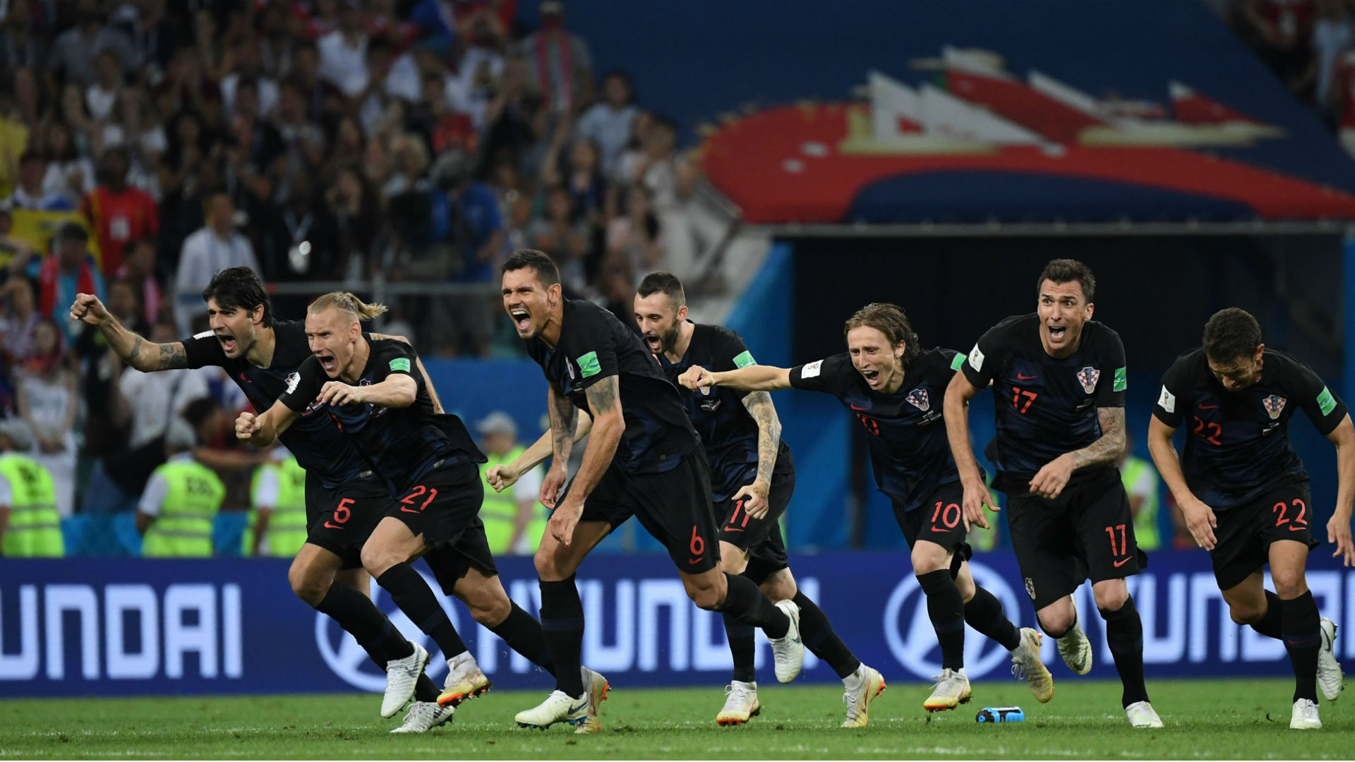 Croatia vs. Russia score: Highlights from World Cup quarterfinals
