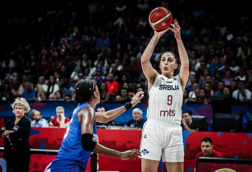 Jelena Brooks Serbia FIBA