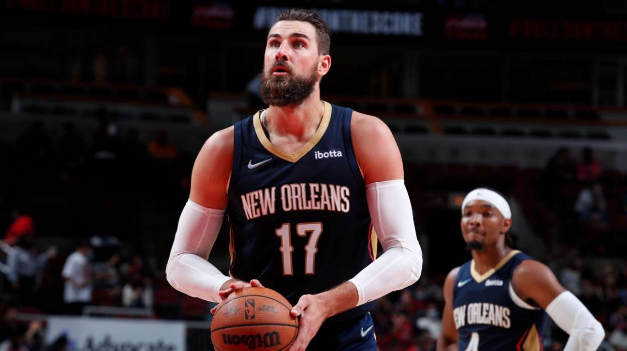 Jonas Valanciunas New Orleans Pelicans