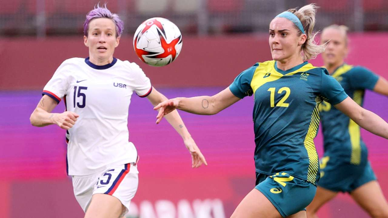 Ellie Carpenter - Megan Rapinoe - 2021 Olympics