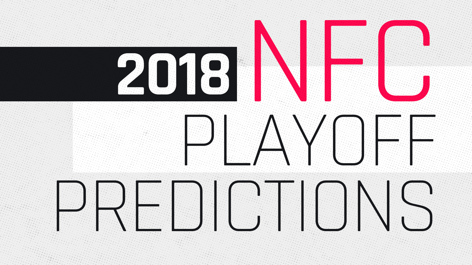 Nfc playoff picture 2018