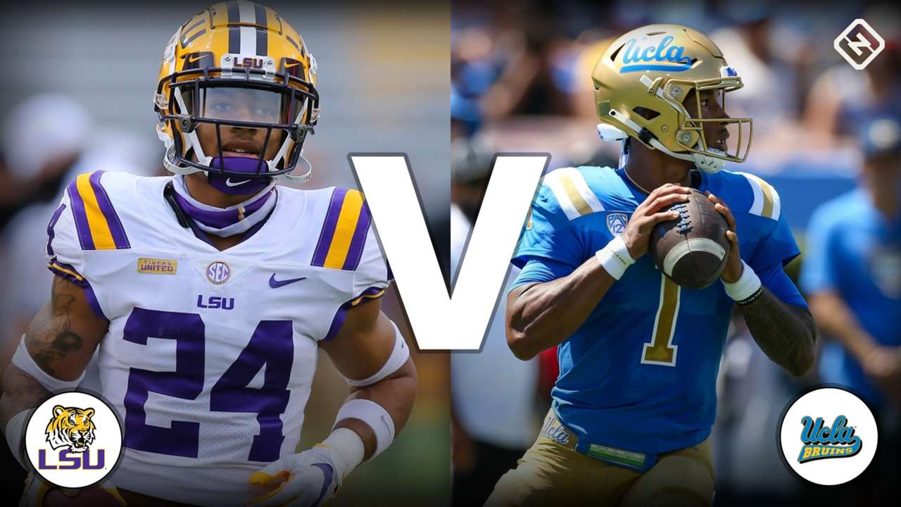 Derek Stingley Jr. (LSU) vs. Dorian Thompson-Robinson (UCLA)