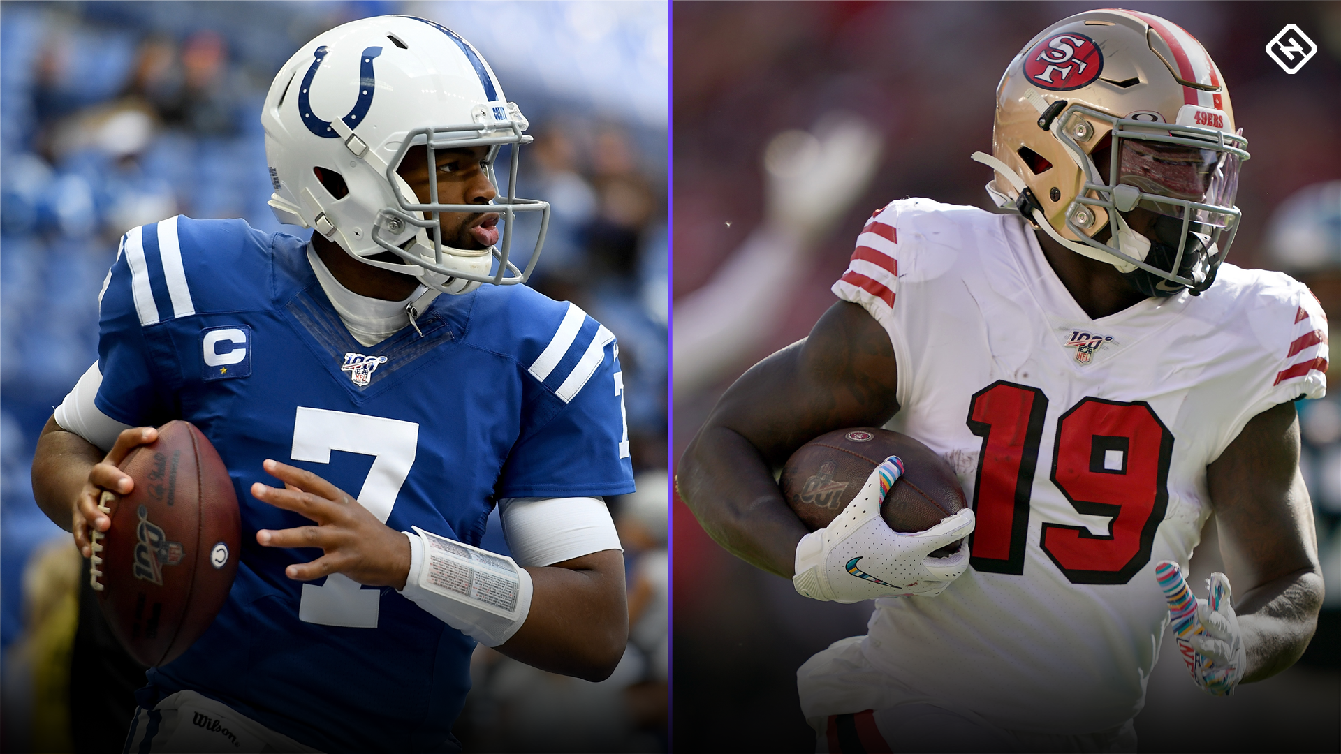 Fantasy Football Waiver Wire Watch List for Week 12: Streaming targets, free agent sleepers include Jacoby Brissett, Deebo Samuel