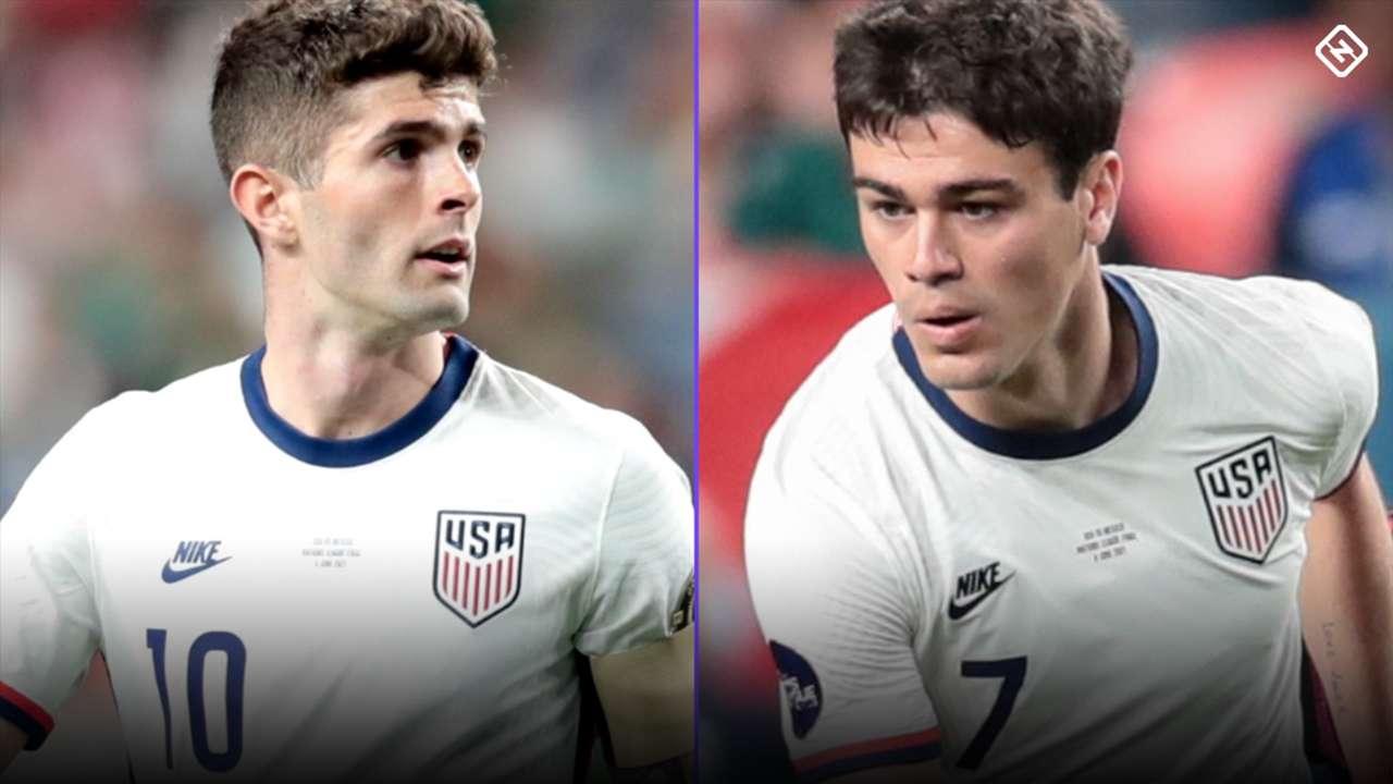 Christian Pulisic - Gio Reyna - USA - World Cup