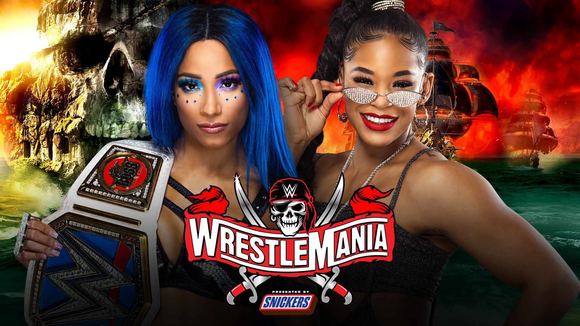 WrestleMania 37 match grades: Bianca Belair, Sahsa Banks make history in instant classic on Night 1