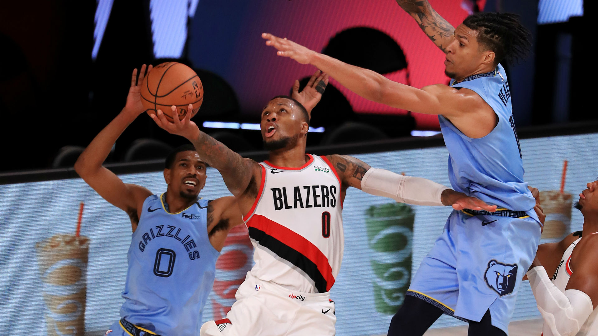 Trail Blazers Vs Grizzlies Score Highlights Portland Holds Off Memphis Advances To First Round Sporting News
