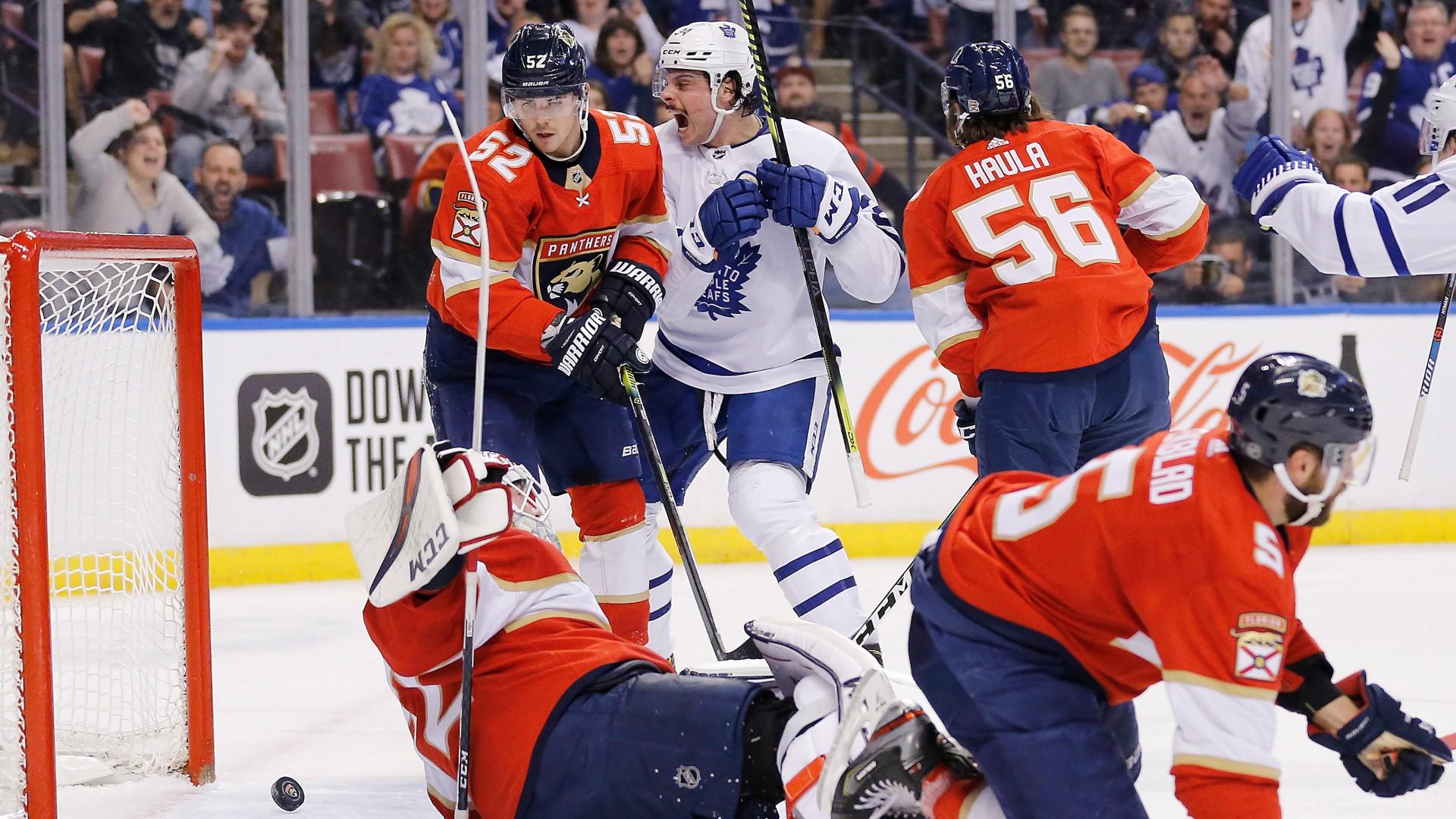 Auston Matthews de Maple Leafs marca el gol número 44, mantiene el ritmo en la carrera del Trofeo Rocket Richard 56