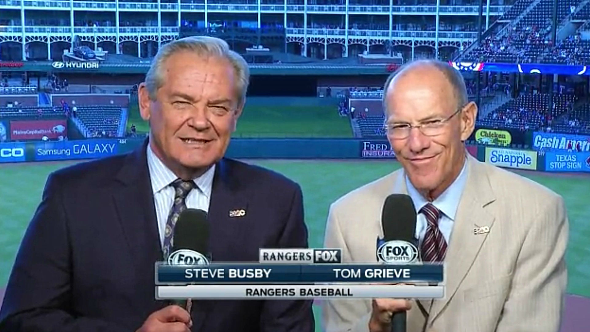 Rangers Broadcast Busby Buzzes Along Ok But Analysis Is Grieve Ous Sporting News