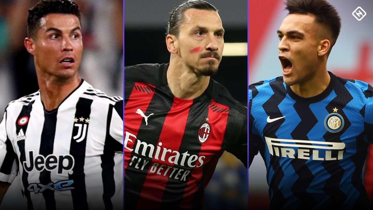 Serie A - 2021-2022 - Ronaldo - Zlatan - Lautaro