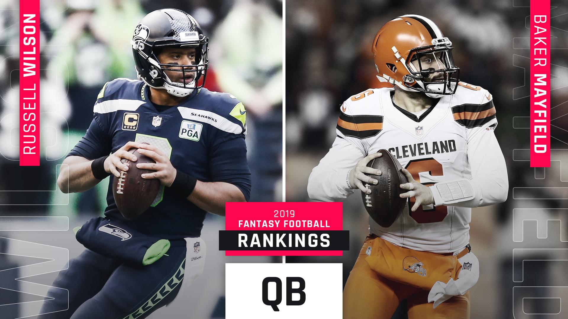 Updated Fantasy Qb Rankings Top Quarterback Draft Picks