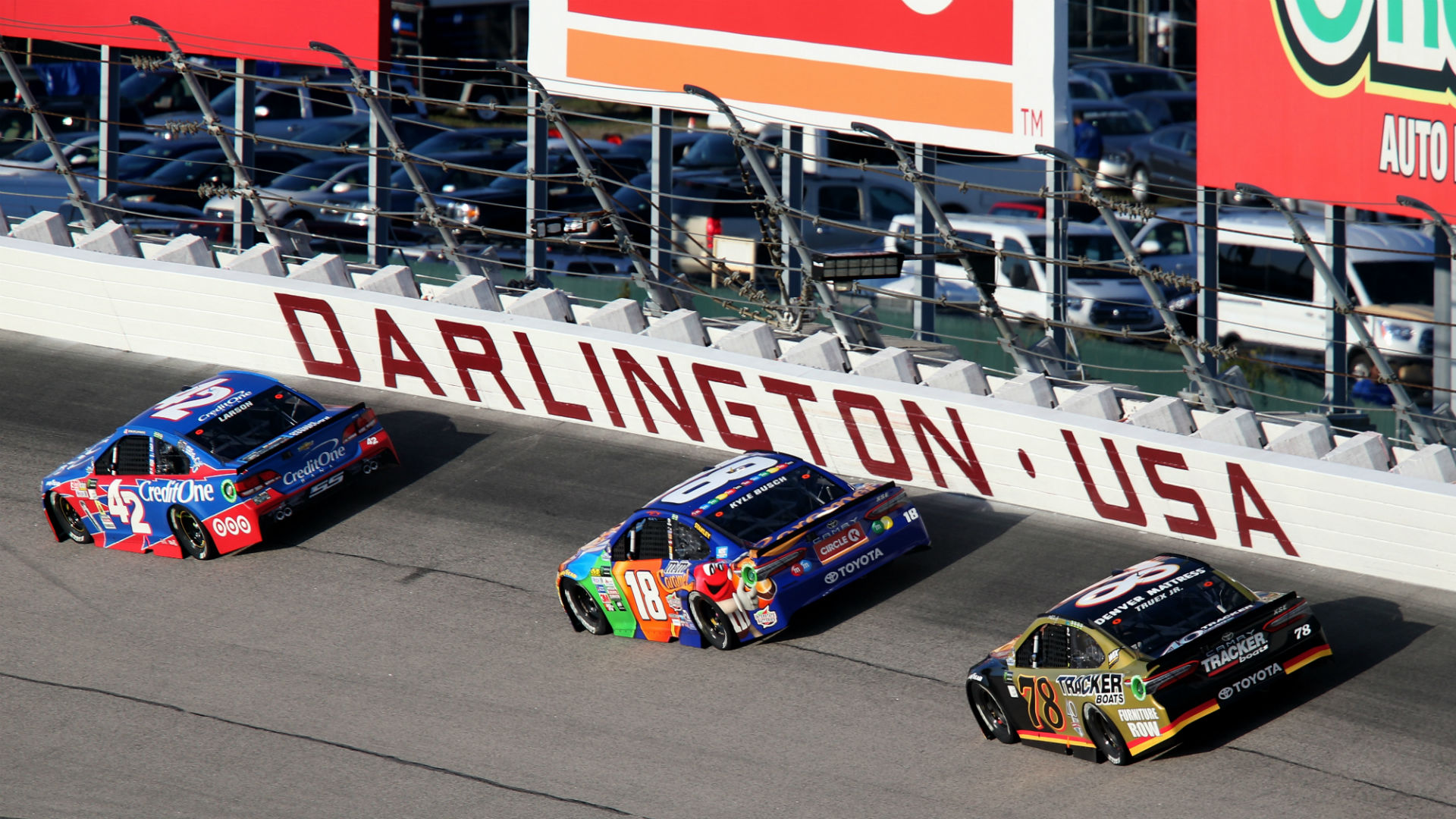 What channel is NASCAR on today? TV schedule, start time for Darlington race